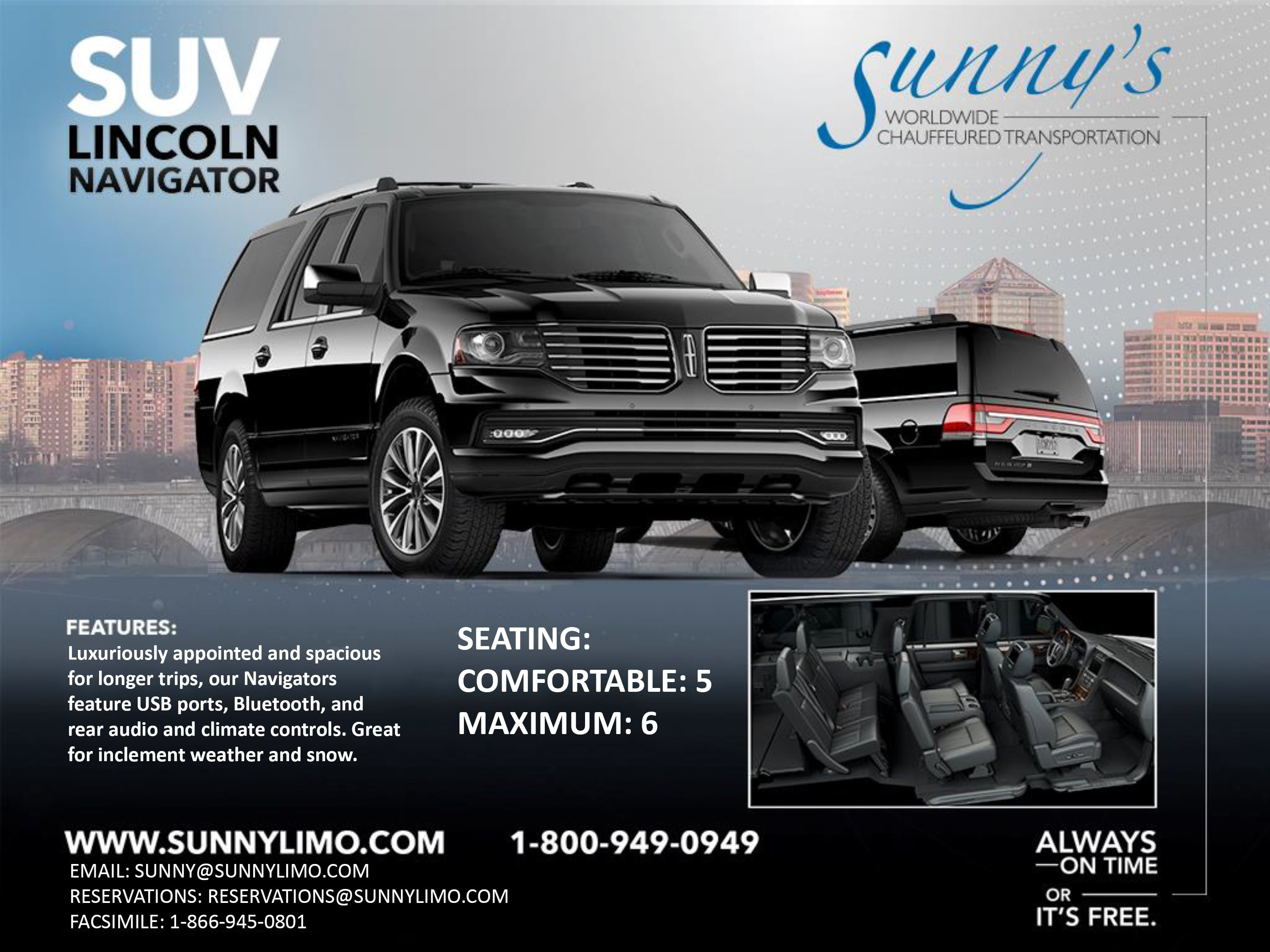 Sunny\'s Worldwide Chauffeured Transportation