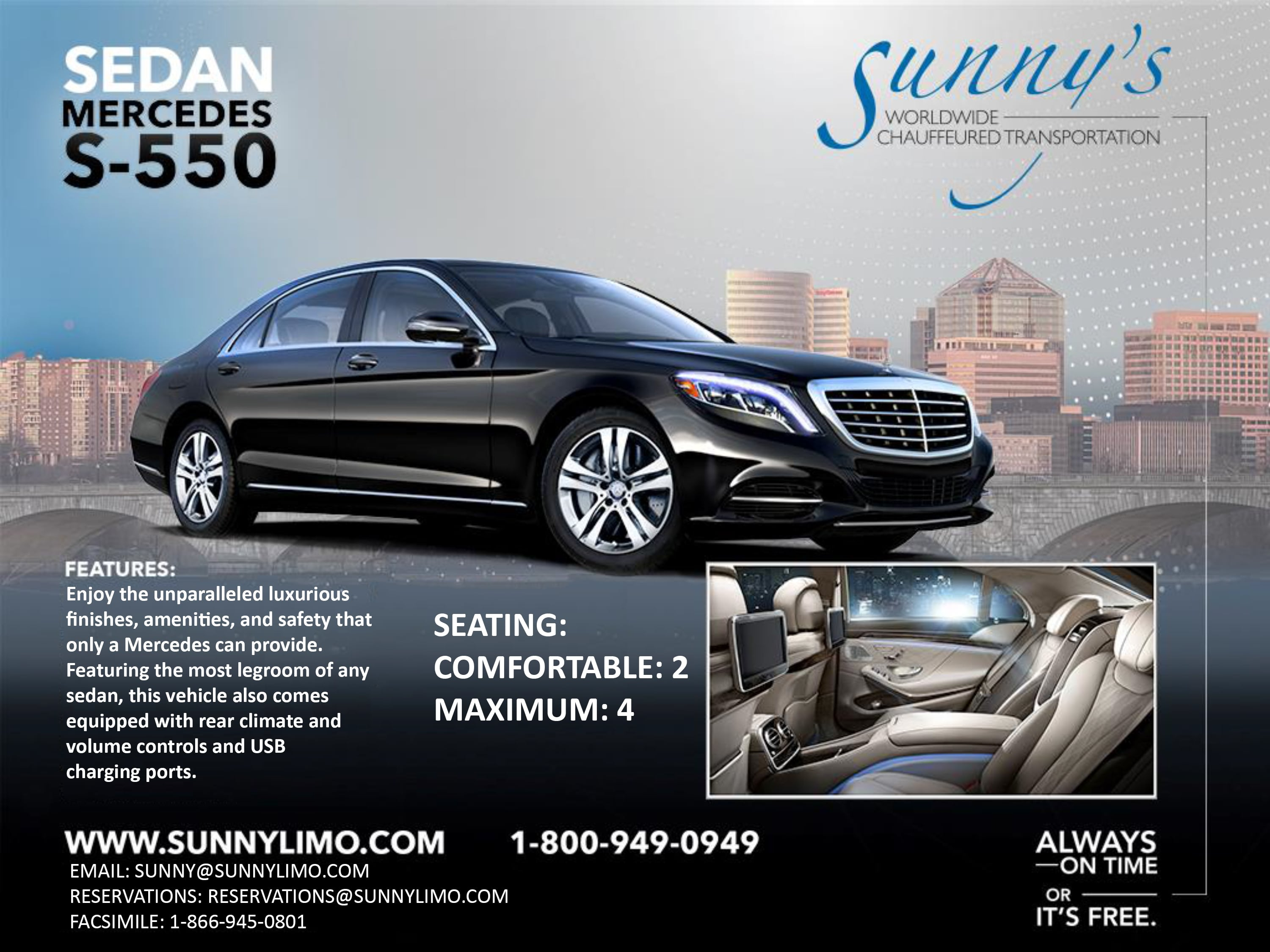 Sunny S Worldwide Chauffeured Transportation